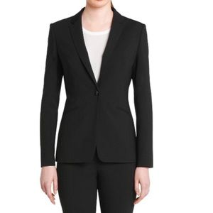 BOSS Hugo Boss Jabina Virgin Wool Blazer Size 8